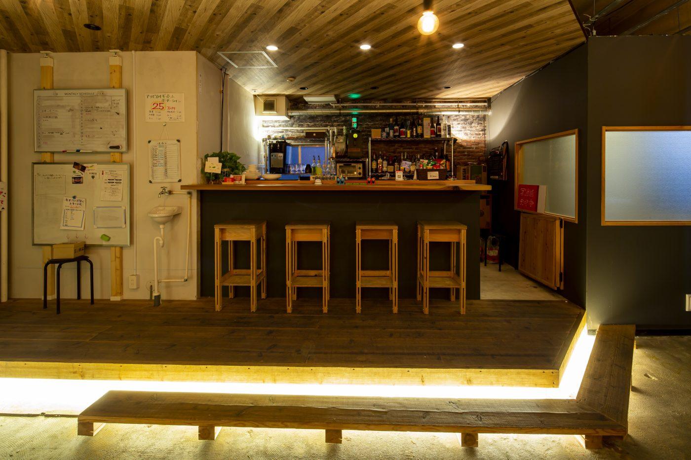北九州市 community cafe & bar アソビカイギ様